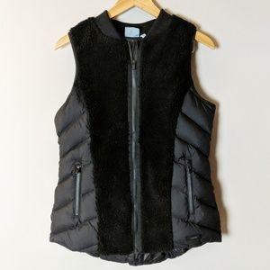 Athleta Black Responsible Goose Down Puffer Vest M